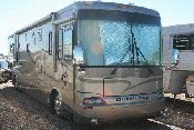 Class A Diesel Pusher Motor Home 